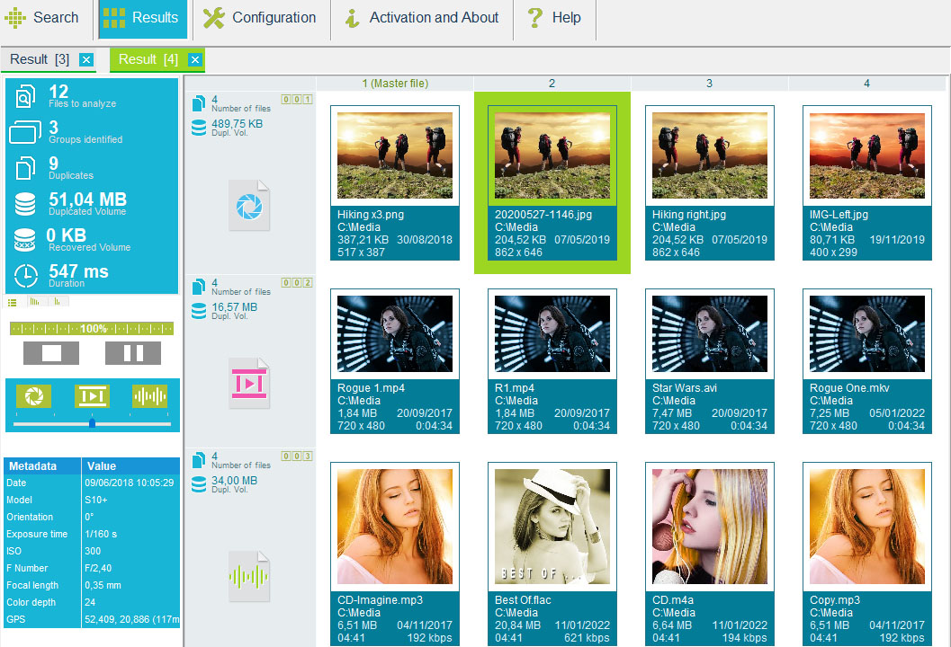 Duplicate Media Finder full screenshot